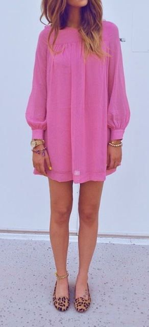 H & M Fuschia dress-I am on the hunt!