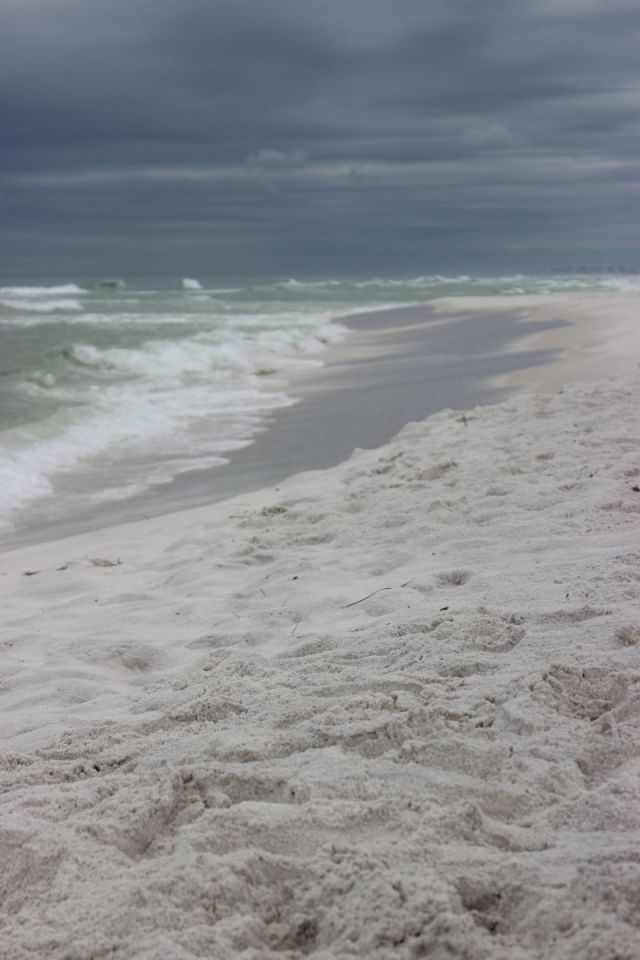 That storm in the distance lasted 4 days-Grayton Beach, FL.